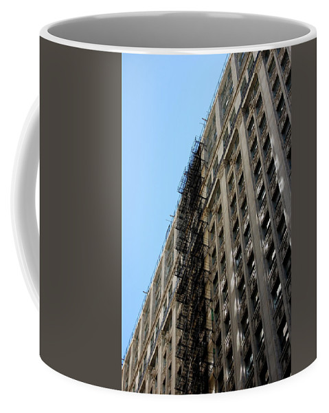 Architecture Coffee Mug featuring the photograph Jammer Architecture 003 by First Star Art