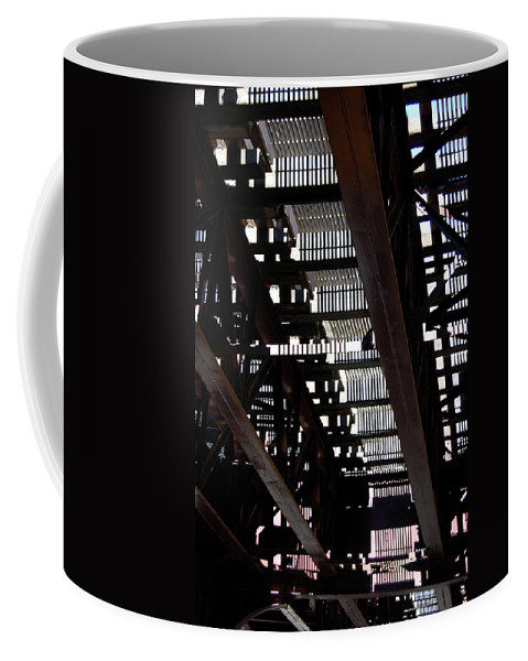 Architecture Coffee Mug featuring the photograph Jammer Architecture 008 by First Star Art