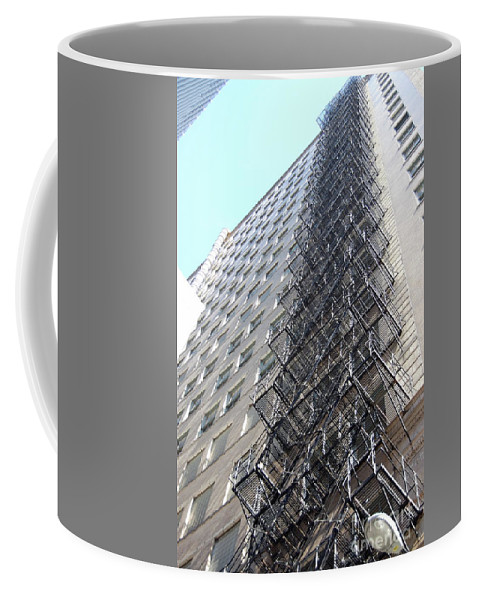 Architecture Coffee Mug featuring the photograph Jammer Architecture 010 by First Star Art