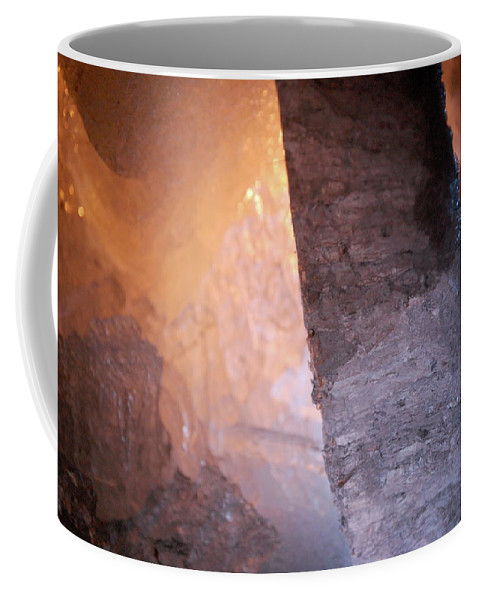 Ice Coffee Mug featuring the photograph Jammer Fire And Ice 005 by First Star Art