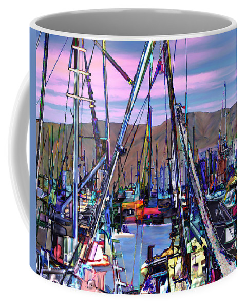 Harbors Coffee Mug featuring the photograph Jammin At Twilight by Kurt Van Wagner