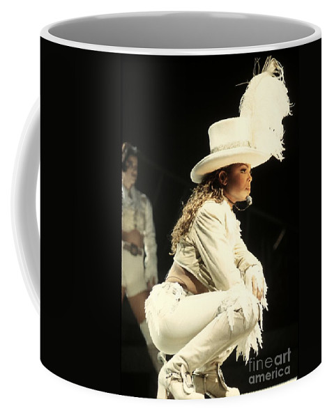 Janet Jackson Coffee Mug featuring the photograph Janet Jackson by Concert Photos