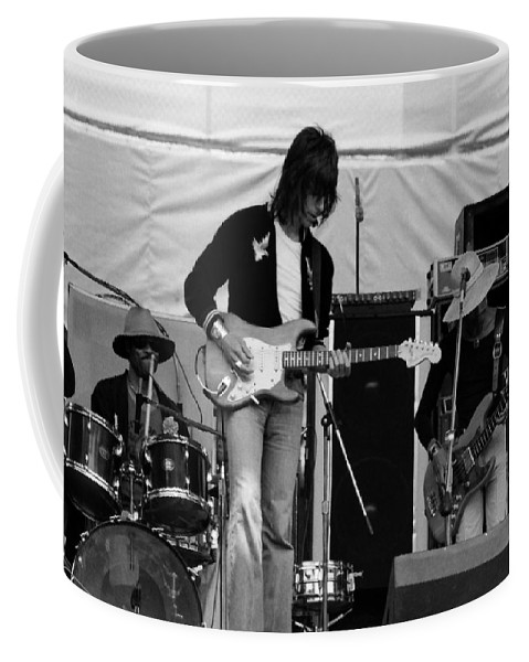 Jeff Beck Coffee Mug featuring the photograph Jb #28 by Ben Upham