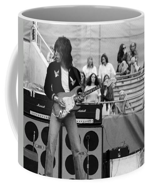 Jeff Beck Coffee Mug featuring the photograph Jb #33 Crop 2 by Ben Upham