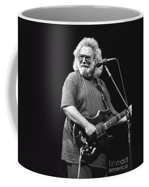 Musician Jerry Garcia Coffee Mug featuring the photograph Jerry Garcia Band by Concert Photos