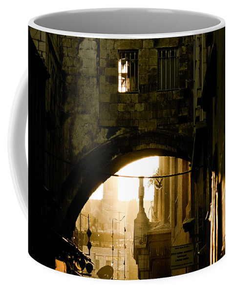 Jerusalem Coffee Mug featuring the photograph Jerusalem - The Holy City by Anthony Doudt
