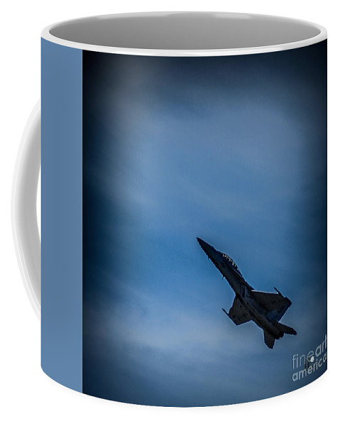 Jet Coffee Mug featuring the photograph Jet Up by Ronald Grogan