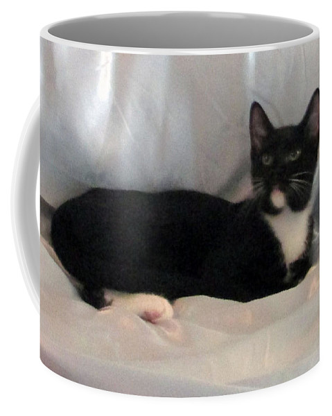 Coffee Mug featuring the photograph Jetta by Debi Singer