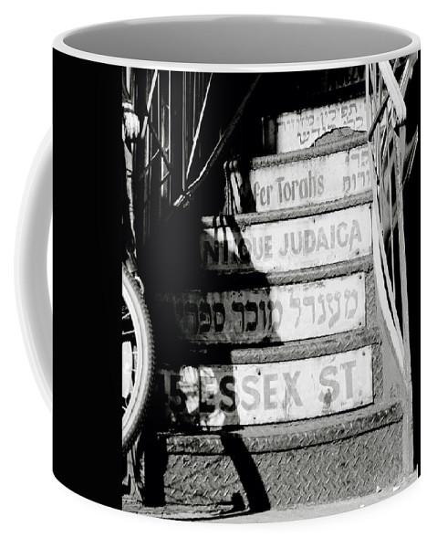New York Coffee Mug featuring the photograph Jewish New York by Shaun Higson
