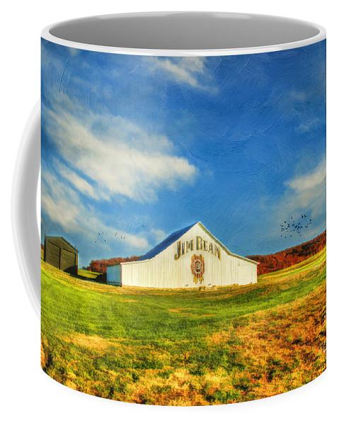Jim Beam Coffee Mug featuring the photograph Jim Beam by Darren Fisher