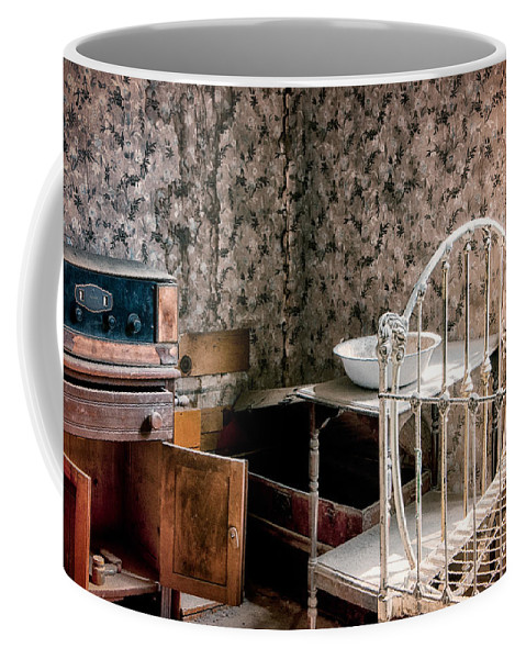 Old Coffee Mug featuring the photograph Johl House by Cat Connor