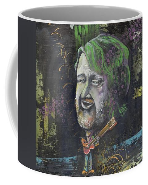 John Coffee Mug featuring the painting 'john Bell' by Whitney Tomlin