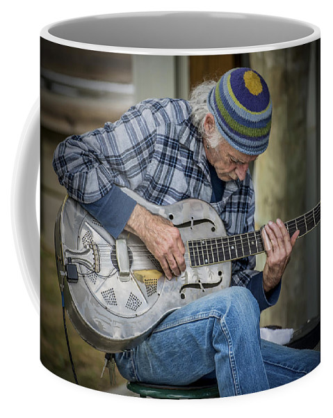 2d Coffee Mug featuring the photograph John Decker by Brian Wallace