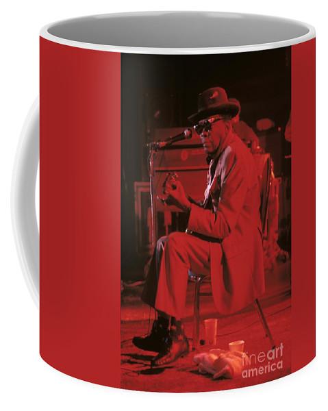 John Lee Hooker Coffee Mug featuring the photograph John Lee Hooker by Concert Photos