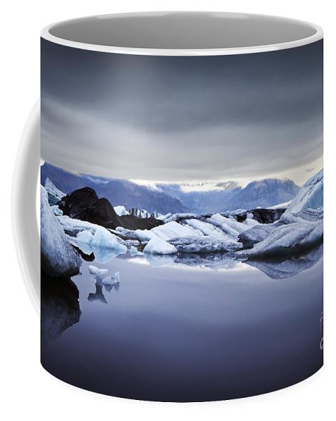 Jokulsarlon Coffee Mug featuring the photograph Jokulsarlon by Gunnar Orn Arnason