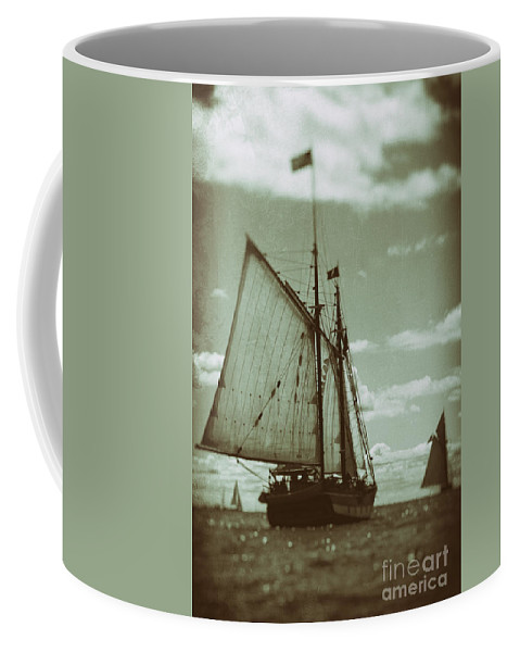 Tall Coffee Mug featuring the photograph Journey Back by Joe Geraci