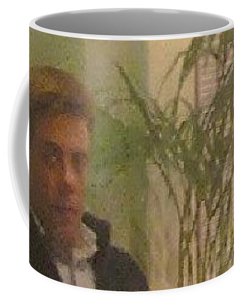 Coffee Mug featuring the photograph Jude by Jude Darrien