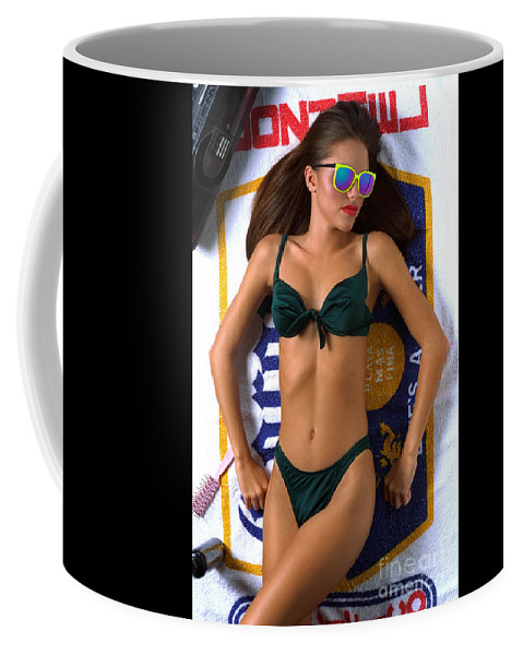 Model Coffee Mug featuring the photograph Julie Corona by Gary Gingrich Galleries