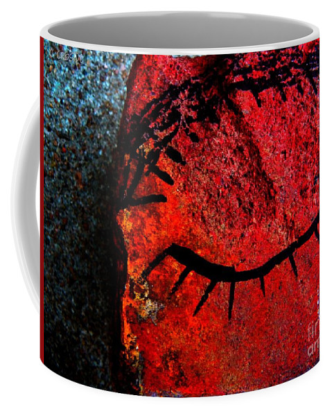 Eye Coffee Mug featuring the photograph Just Breathe by Chris Berry