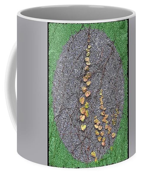 Ivy Coffee Mug featuring the digital art Just Hanging Around 2 by Tim Allen