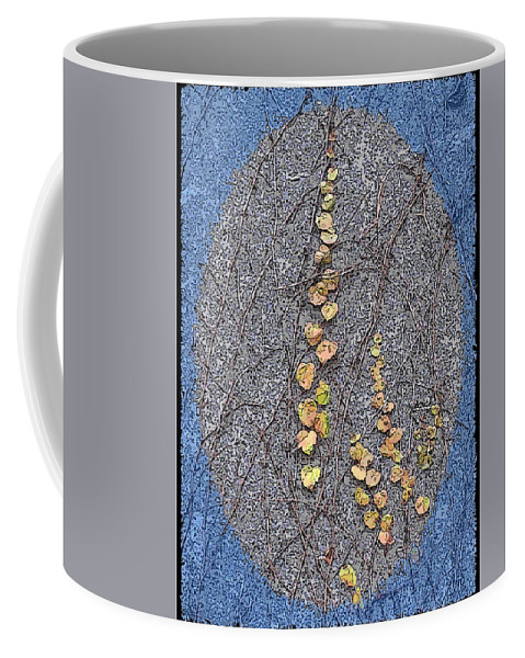 Ivy Coffee Mug featuring the digital art Just Hanging Around 3 by Tim Allen