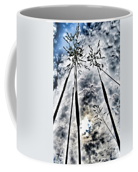 Grass Coffee Mug featuring the photograph Just Too High... by Marianna Mills