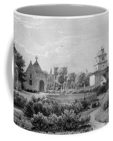 Jylland Norre Vosborg Coffee Mug featuring the painting Jylland Norre Vosborg by Celestial Images