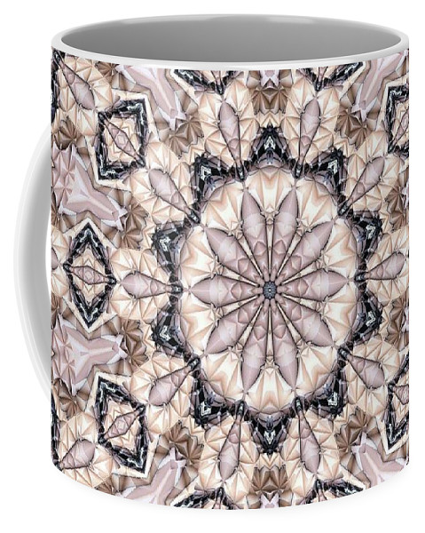 Kaleidoscope Coffee Mug featuring the photograph Kaleidoscope 21 by Ron Bissett