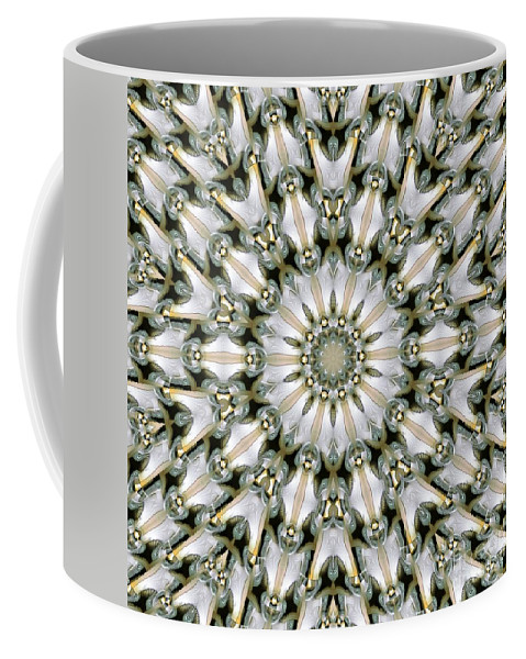 Kaleidoscope Coffee Mug featuring the digital art Kaleidoscope 28 by Ron Bissett