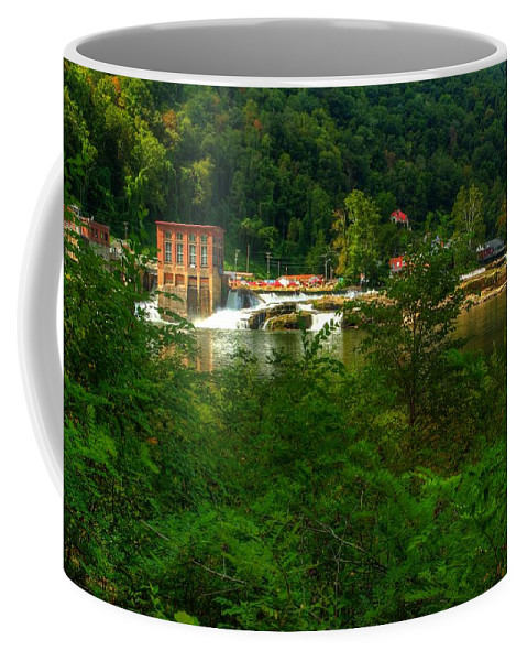 Kanawha Falls Coffee Mug featuring the photograph Kanawha Falls by Dave Files