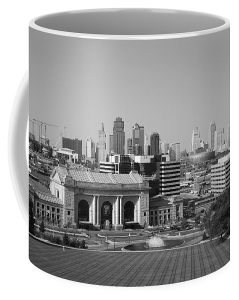 America Coffee Mug featuring the photograph Kansas City by Frank Romeo