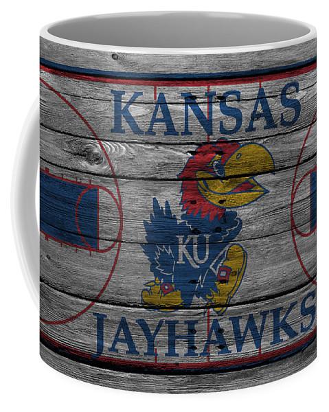 Jayhawks Coffee Mug featuring the photograph Kansas Jayhawks by Joe Hamilton