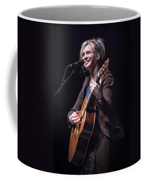 Art Coffee Mug featuring the photograph Karin Bergquist Lead Singer Of Over The Rhine by Randall Nyhof
