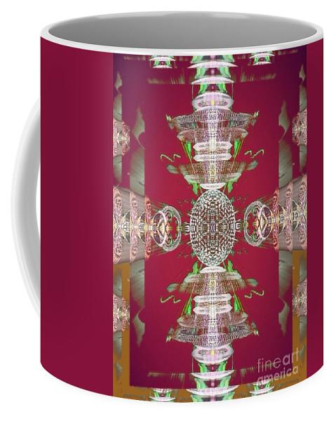 Angel Coffee Mug featuring the digital art Kate by Raymel Garcia