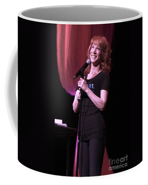 Comedy Coffee Mug featuring the photograph Kathy Griffen by Concert Photos