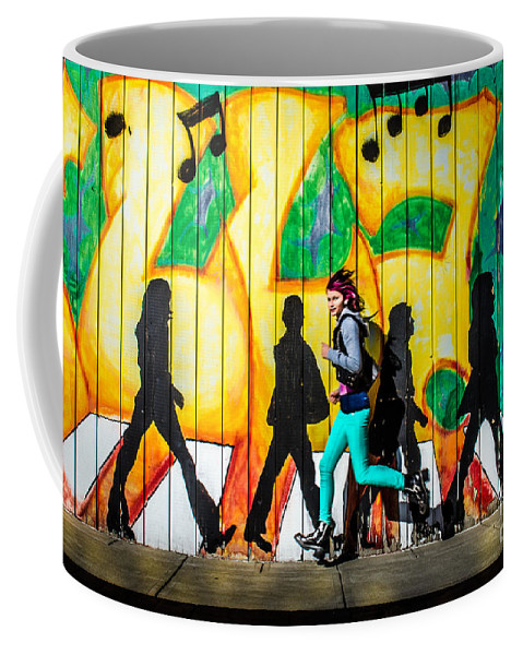 Kaylaa Coffee Mug featuring the photograph Kaylaa At The Blue 2 by Michael Arend