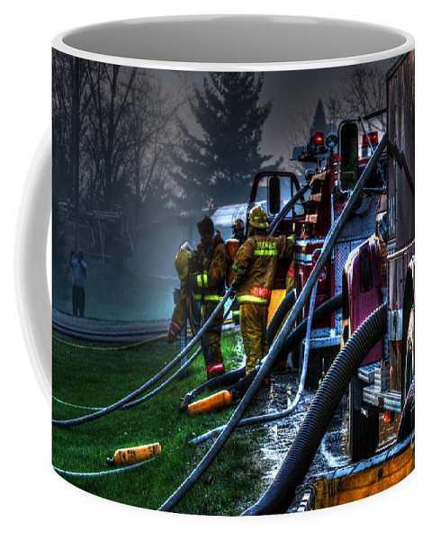 Fire Coffee Mug featuring the photograph Keep Fire In Your Life No 6 by Tommy Anderson