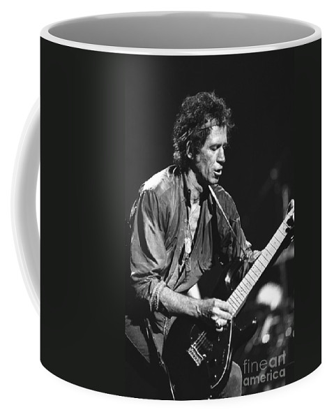 Guitarist Coffee Mug featuring the photograph Keith Richards by Concert Photos