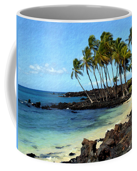 Hawaii Coffee Mug featuring the photograph Kekaha Kai II by Kurt Van Wagner