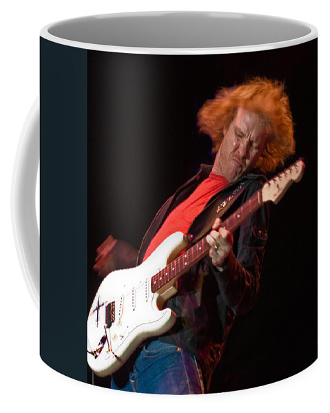 Tampa Bay Blues Festival 2010 Coffee Mug featuring the photograph Kenny Wayne Shepherd Rocks His Stratocaster by Ginger Wakem