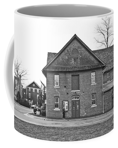 Kentlands Coffee Mug featuring the photograph Kentlands Arts Barn by Thomas Marchessault