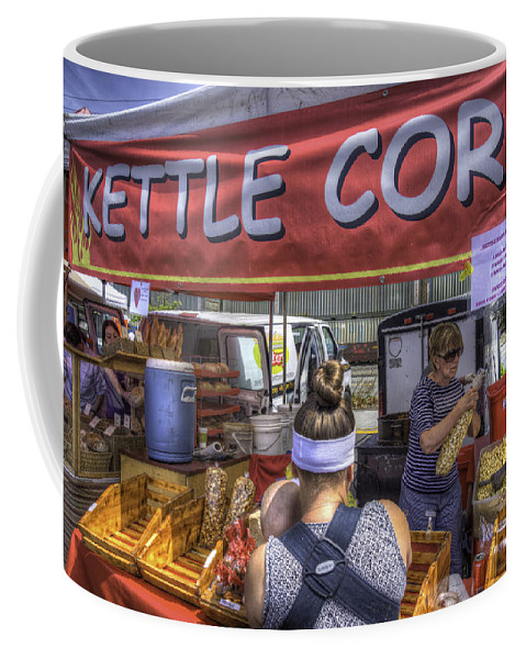 Kettle Corn Coffee Mug featuring the photograph Kettle Corn by Spencer McDonald