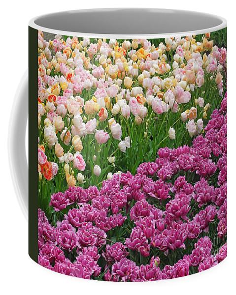 Keukenhof Gardens Coffee Mug featuring the photograph Keukenhof Gardens 22 by Mike Nellums