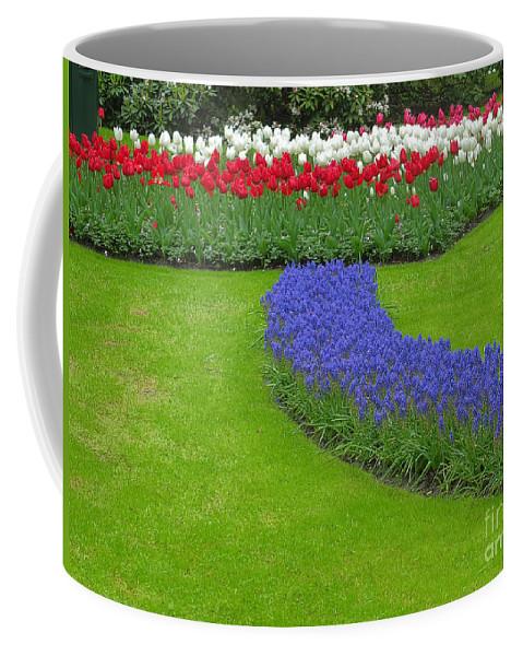 Keukenhof Gardens Coffee Mug featuring the photograph Keukenhof Gardens 62 by Mike Nellums