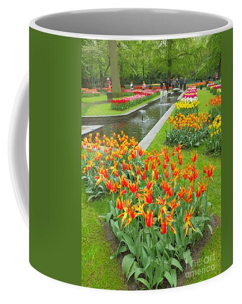 Keukenhof Gardens Coffee Mug featuring the photograph Keukenhof Gardens 70 by Mike Nellums