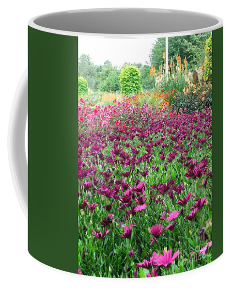 Flower Coffee Mug featuring the photograph KEW by Heather Lennox