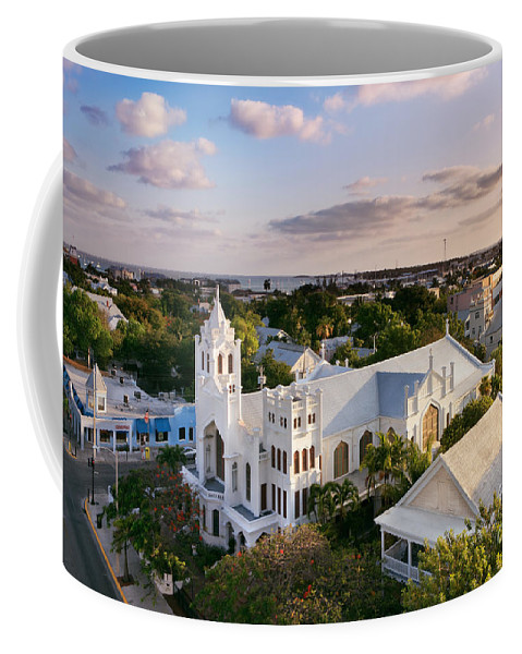 Key West Coffee Mug featuring the photograph Key West by Rod McLean