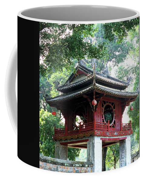 Vietnam Coffee Mug featuring the photograph Khue Van Cac Gate by Rick Piper Photography