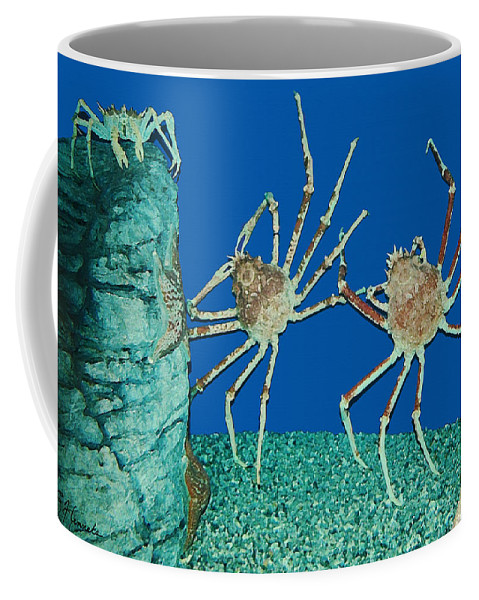 Kick Up Your Heels Coffee Mug featuring the painting Kick Up Your Heels by Ellen Henneke