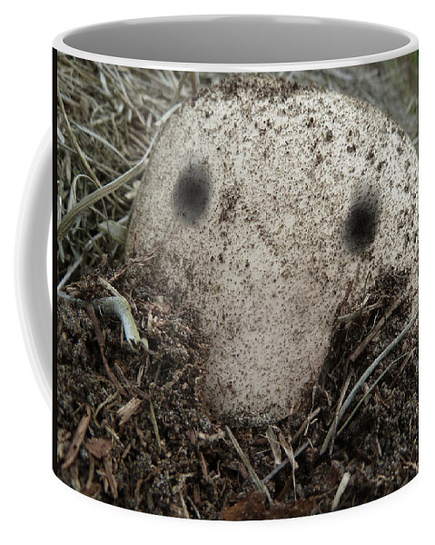 Kilroy Was Here Coffee Mug featuring the photograph Kilroy Was Here by Steve Taylor